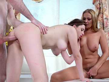 Elektra Rose and Elexis Monroe: Fucking the Help